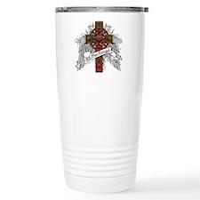 MacDougal Tartan Cross Travel Mug