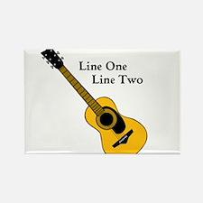 Custom Guitar Design Magnets