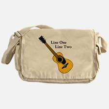 Custom Guitar Design Messenger Bag