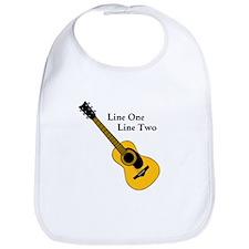 Custom Guitar Design Bib