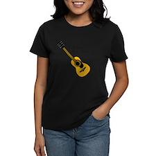 Custom Guitar Design T-Shirt