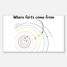 where farts come from Decal