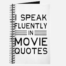 I Speak Fluently In Movie Quotes Journal