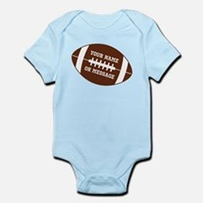 YOUR NAME Football Body Suit