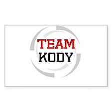 Kody Rectangle Decal