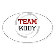 Kody Oval Decal