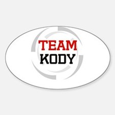 Kody Oval Decal