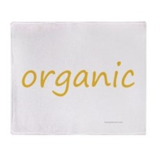 organic Throw Blanket