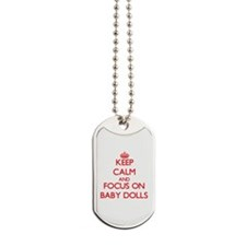 Cool Baby doll Dog Tags