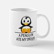 A Penguin Ate My Brain Mugs