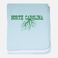 North Carolina Roots baby blanket