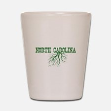 North Carolina Roots Shot Glass