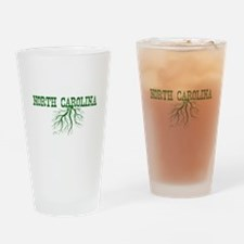 North Carolina Roots Drinking Glass