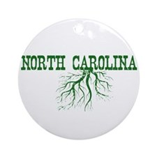 North Carolina Roots Ornament (Round)