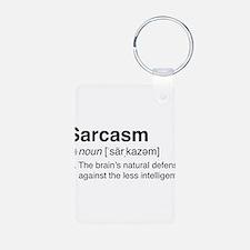 Sarcasm Definition Keychains