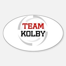 Kolby Oval Stickers