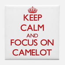 Cute Camelot Tile Coaster