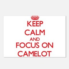 Cute Camelot Postcards (Package of 8)