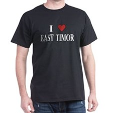 I Love East Timor T-Shirt
