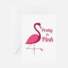 Pretty In Pink Greeting Cards