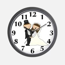 Wedding Couple Clock