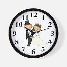 Wedding Couple Clock