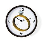 Ring Wedding Clock