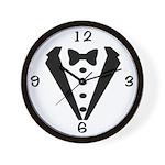 Tux Wedding Clock