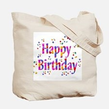 It's a Party Happy Birthday Tote Bag