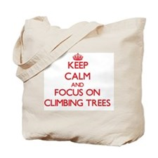 Unique Keep calm tree Tote Bag
