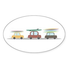 Surfer Cars Decal
