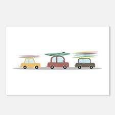 Surfer Cars Postcards (Package of 8)
