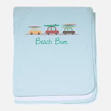 Beach Bum baby blanket