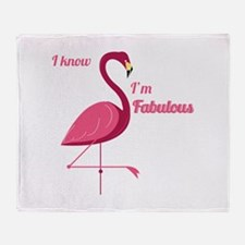 Im Fabulous Throw Blanket