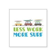 More Surf Sticker