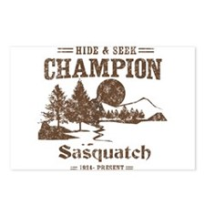 Hide & Seek Champion Sasquatch Postcards (Package