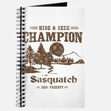 Hide & Seek Champion Sasquatch Journal