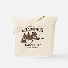 Hide & Seek Champion Sasquatch Tote Bag