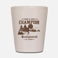 Hide & Seek Champion Sasquatch Shot Glass