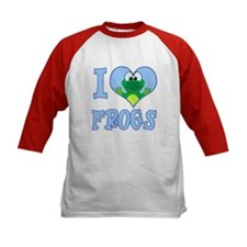 I Love (Heart) Frogs Tee