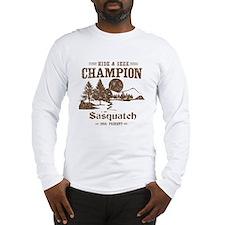 Hide & Seek Champion Sasquatch Long Sleeve T-Shirt
