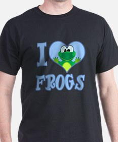I Love (Heart) Frogs T-Shirt
