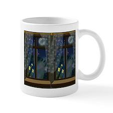 Ghosts in Window Halloween Mug