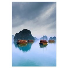 Halong Bay, Vietnam Framed Print