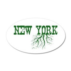 New York Roots Wall Decal