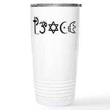 Cute Symbol for coexistence Travel Mug