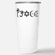 Unique Coexist symbol Travel Mug
