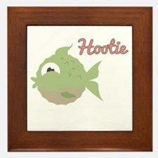 Hootie Framed Tile