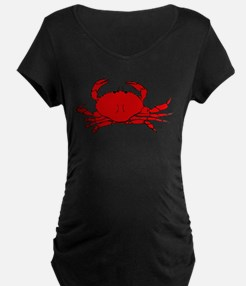 Red Crab Maternity T-Shirt