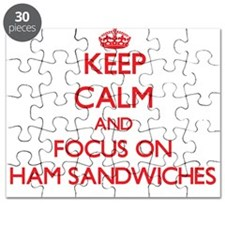 Cool Carry on and keep calm Puzzle